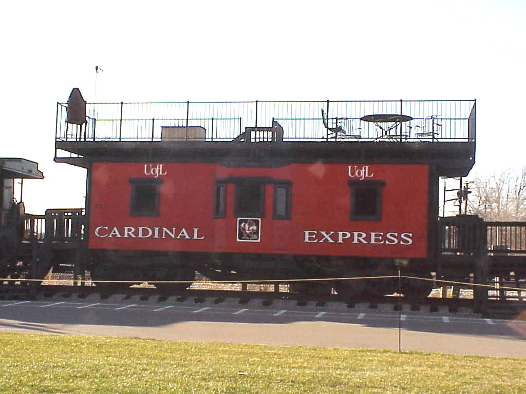 Caboose railroad car  Etsy